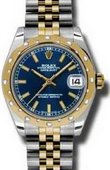 Rolex Datejust 178343 blij 31mm Steel and Yellow Gold
