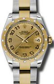 Rolex Datejust 178343 chcao 31mm Steel and Yellow Gold