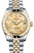 Rolex Datejust 178343 chfj 31mm Steel and Yellow Gold