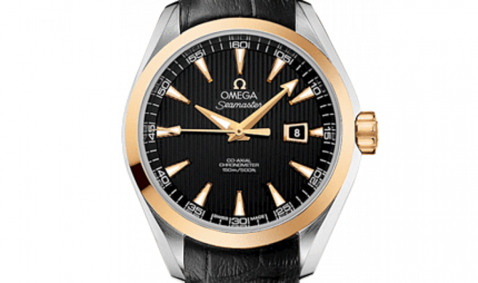 Omega 231.23.34.20.01.001 Seamaster Ladies Aqua terra 150m co-axial - фото 3