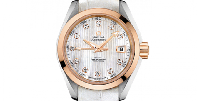 Omega 231.23.30.20.55.001 Seamaster Ladies Aqua terra 150m co-axial - фото 3