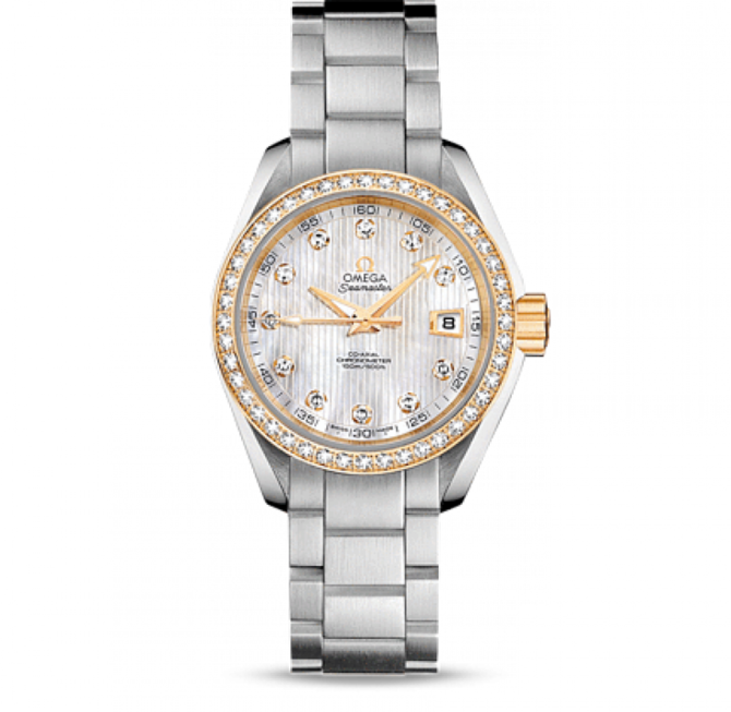 Omega 231.25.30.20.55.004 Seamaster Ladies Aqua terra 150m co-axial - фото 1