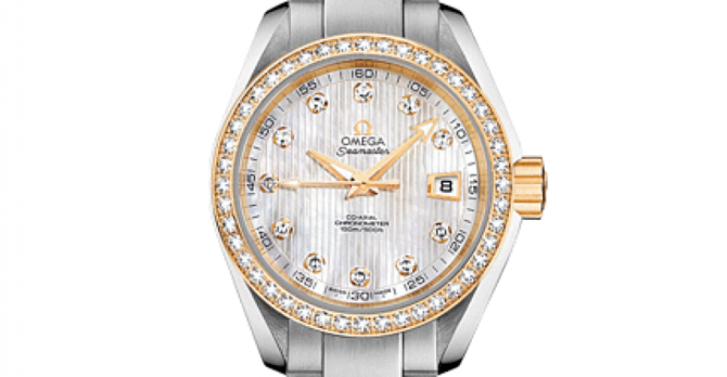 Omega 231.25.30.20.55.004 Seamaster Ladies Aqua terra 150m co-axial - фото 3