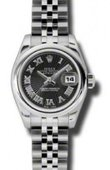 Rolex Datejust Ladies 179160 bksbrj 26mm Steel