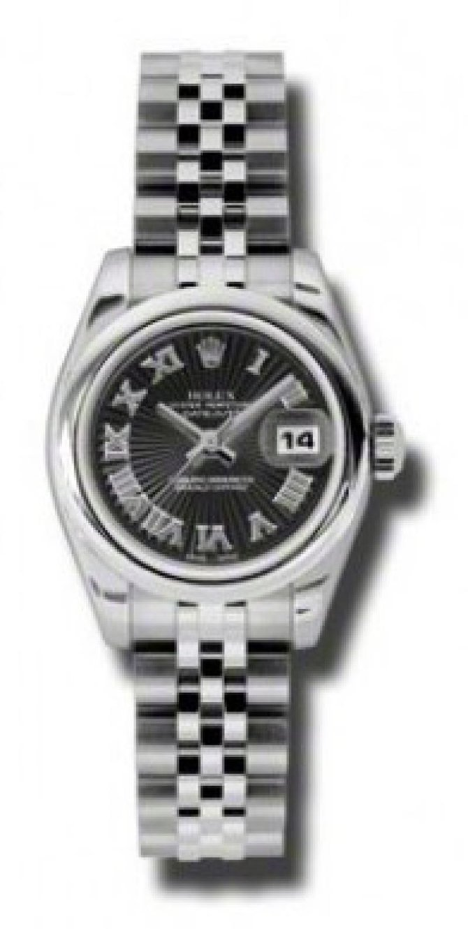 Rolex 179160 bksbrj Datejust Ladies 26mm Steel - фото 1
