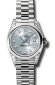 Rolex Datejust Ladies 179296 gbdp 26mm Platinum