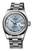 Rolex Datejust Ladies 179166-83136 26mm Platinum