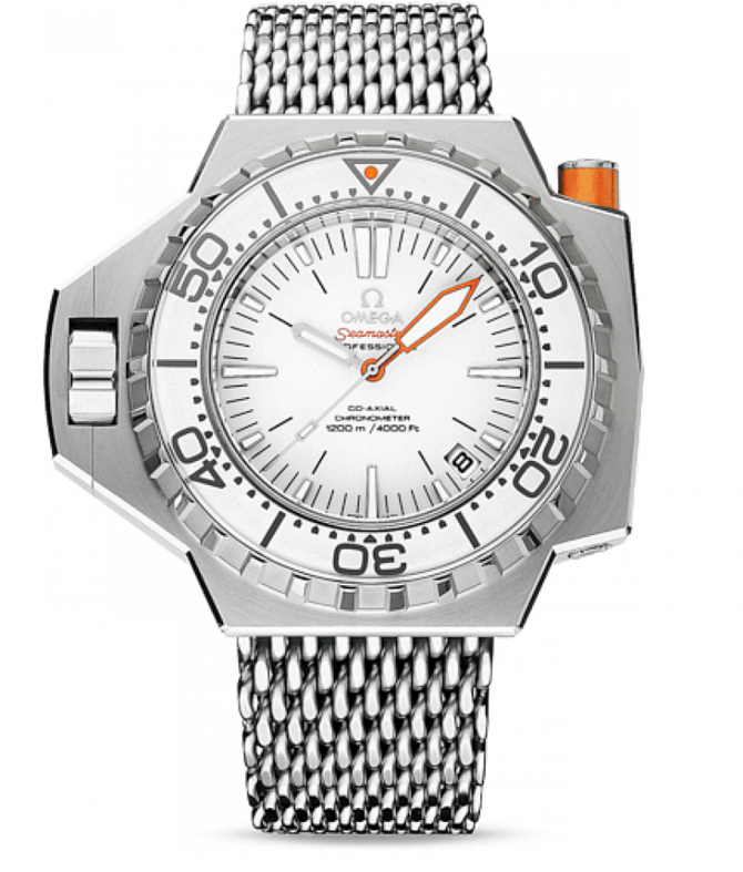 Omega 224.30.55.21.04.001 Seamaster Ladies Ploprof 1200 m co-axial - фото 1