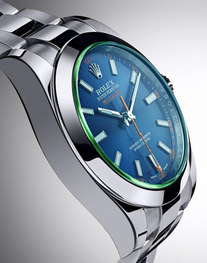 116400GV Rolex Steel 40mm Milgauss