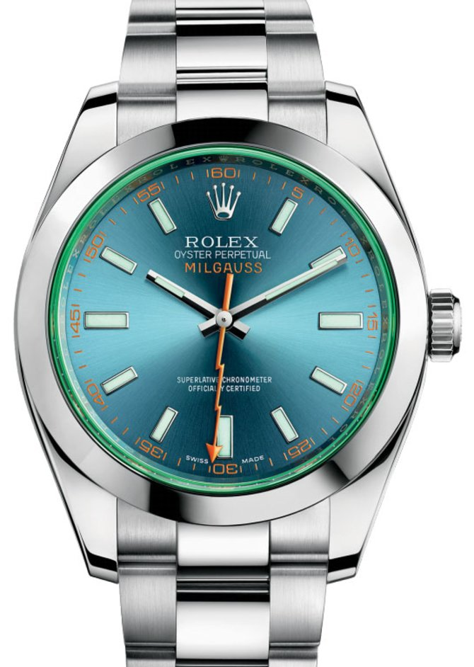 Rolex 116400GV Milgauss Steel 40mm - фото 1