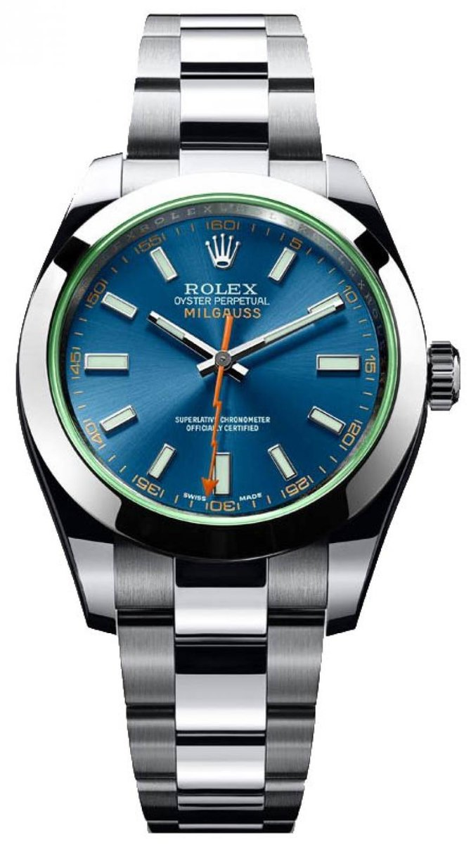Rolex 116400GV Milgauss Steel 40mm - фото 2