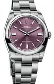Rolex Oyster Perpetual 116000 Red Grape No Date