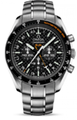 Omega Speedmaster 321.90.44.52.01.001 HB-Sia co-axial GMT chronograph numbered edition