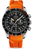 Omega Speedmaster 321.92.44.52.01.003 HB-Sia co-axial GMT chronograph numbered edition