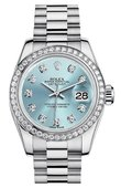 Rolex Datejust Ladies 179136 ibdp 26mm Platinum