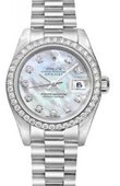 Rolex Datejust Ladies 179136 mdp 26mm Platinum