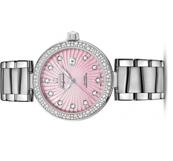 Omega 425.35.34.20.57.001 De Ville Ladies Ladymatic co-axial - фото 2