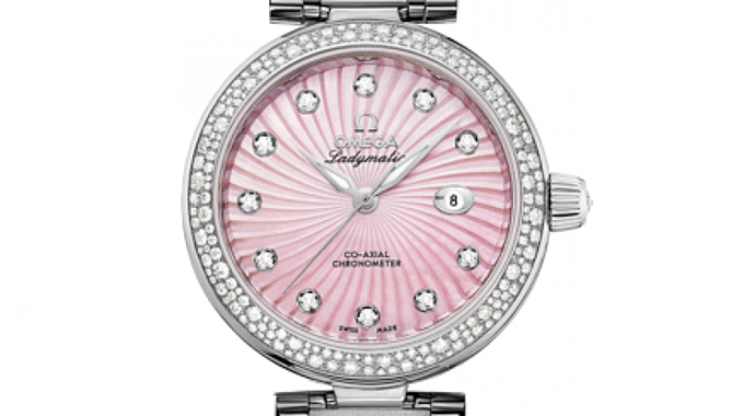 Omega 425.35.34.20.57.001 De Ville Ladies Ladymatic co-axial - фото 3