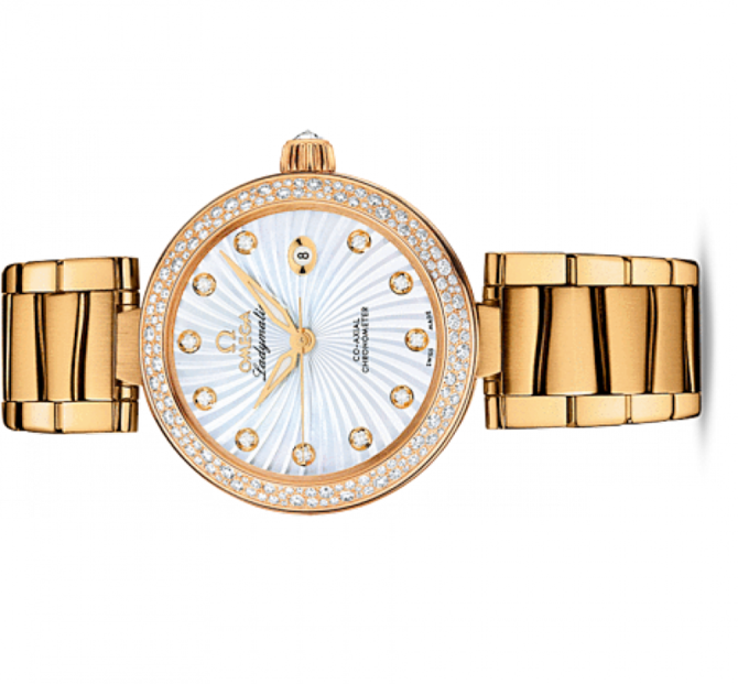 Omega 425.65.34.20.55.004 De Ville Ladies Ladymatic co-axial - фото 2