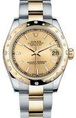 Rolex Datejust 178343 chio 31mm Steel and Yellow Gold