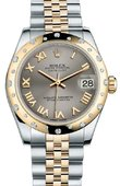 Rolex Datejust 178343 grj 31mm Steel and Yellow Gold