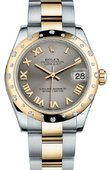 Rolex Datejust 178343 gro 31mm Steel and Yellow Gold