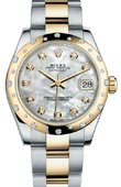 Rolex Datejust 178343 mdo 31mm Steel and Yellow Gold