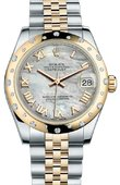 Rolex Datejust 178343 mrj 31mm Steel and Yellow Gold