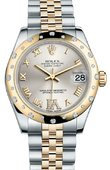 Rolex Datejust 178343 sdrj 31mm Steel and Yellow Gold