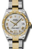 Rolex Datejust 178343 sdro 31mm Steel and Yellow Gold