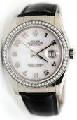 Rolex Datejust 116189 md 36mm White Gold Mother of Pearl