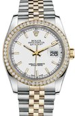 Rolex Datejust 116243 wij 36mm Steel and Yellow Gold