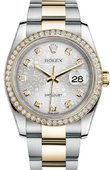 Rolex Datejust 116243 sjdo 36mm Steel and Yellow Gold