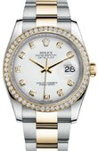 Rolex Datejust 116243 wdo 36mm Steel and Yellow Gold