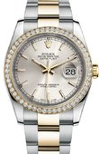 Rolex Datejust 116243 sio 36mm Steel and Yellow Gold