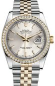 Rolex Datejust 116243 sij 36mm Steel and Yellow Gold