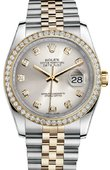 Rolex Datejust 116243 sdj 36mm Steel and Yellow Gold