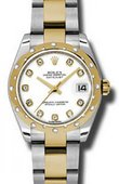 Rolex Datejust 178343 wdo 31mm Steel and Yellow Gold