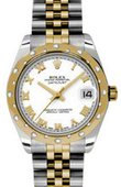 Rolex Datejust 178343 wrj 31mm Steel and Yellow Gold