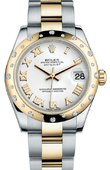 Rolex Datejust 178343 wro 31mm Steel and Yellow Gold