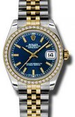 Rolex Datejust 178383 blij 31mm Steel and Yellow Gold