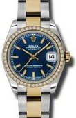 Rolex Datejust 178383 blio 31mm Steel and Yellow Gold