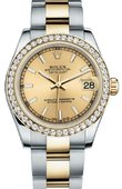 Rolex Datejust 178383 chio 31mm Steel and Yellow Gold