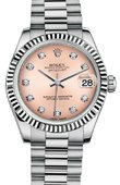 Rolex Datejust 178279 Pink Diamonds 31mm White Gold