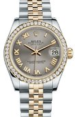 Rolex Datejust 178383 grj 31mm Steel and Yellow Gold