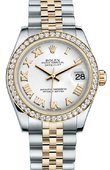 Rolex Datejust 178383 wrj 31mm Steel and Yellow Gold