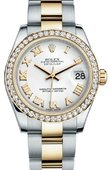 Rolex Datejust 178383 wro 31mm Steel and Yellow Gold