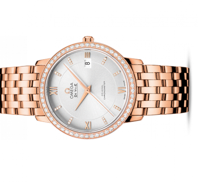 Omega 424.55.37.20.52.001 De Ville Ladies Prestige co-axial 36,8 мм - фото 2
