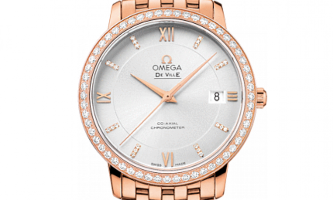 Omega 424.55.37.20.52.001 De Ville Ladies Prestige co-axial 36,8 мм - фото 3