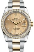 Rolex Datejust 116243 chio 36mm Steel and Yellow Gold